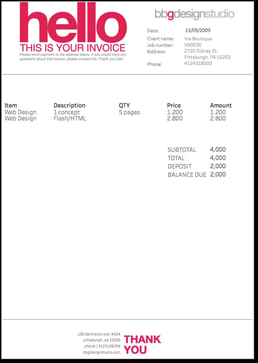 biztory, invoice, tableau, visualisation