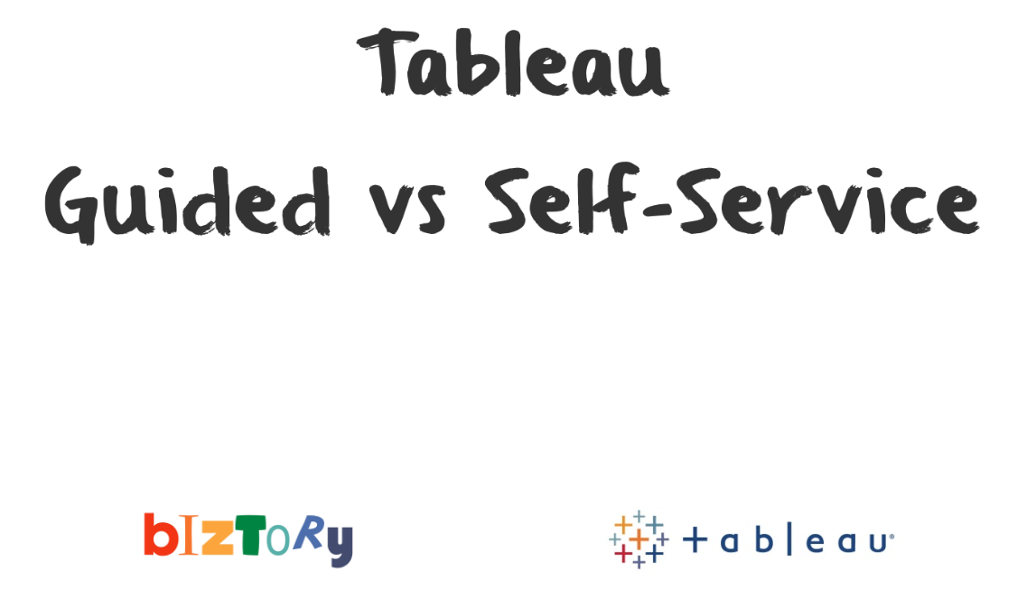 Data Analytics conference: Guided vs Self-Service slides