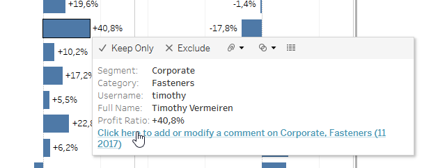 An interactive commenting solution for Tableau Server   Biztory